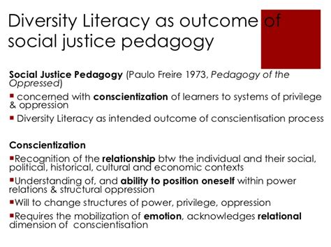 studies on diversity and social justice education diversity literacy teaching for social justice in south