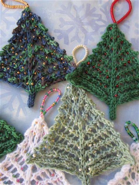 tree of knitting pattern knitted trees loveknitting