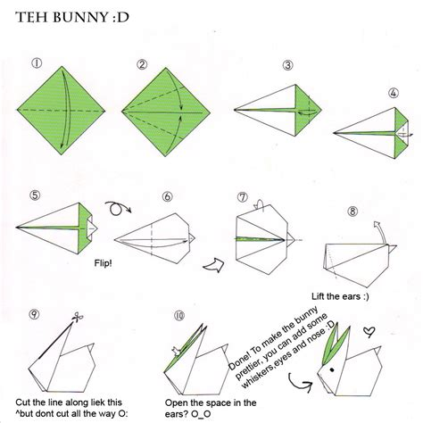 how to make a bunny origami avion en papier avion