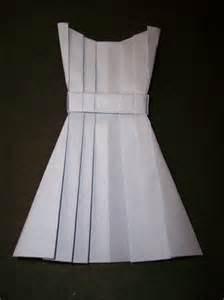 origami clothing origami dress crafts clothes patterns