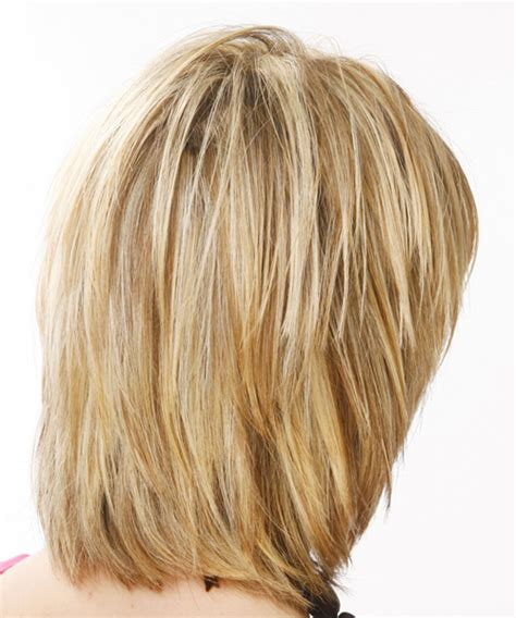 views of back of medium hairstyles medium length layered hairstyles back view