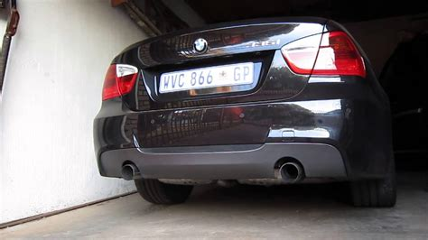Bmw Performance Exhaust 335i by Bmw 335i M Performance Exhaust Cold Start
