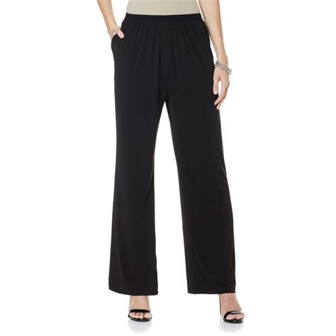 jersey knit palazzo dg2 by diane gilman jersey knit palazzo pant diane gilman