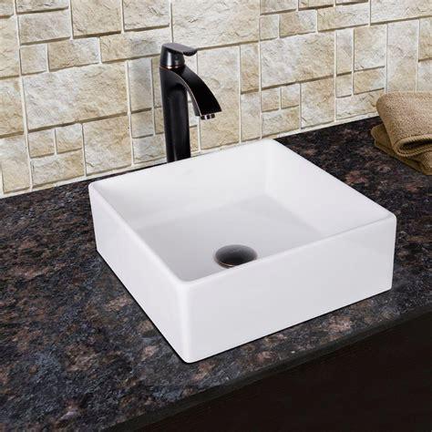 Bow Windows Home Depot vigo bavaro matte stone vessel sink in white with linus