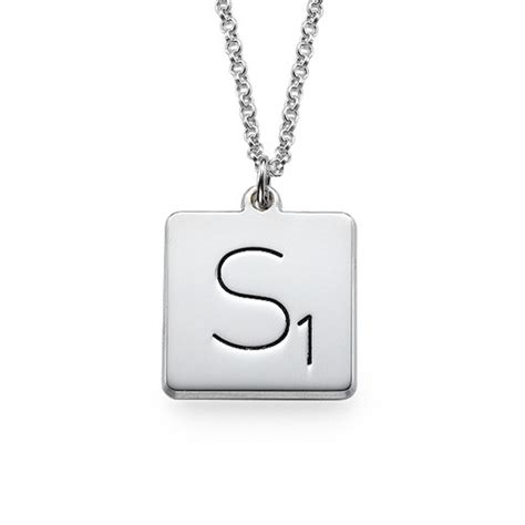 scrabble necklaces the mynamenecklace introducing the scrabble necklace