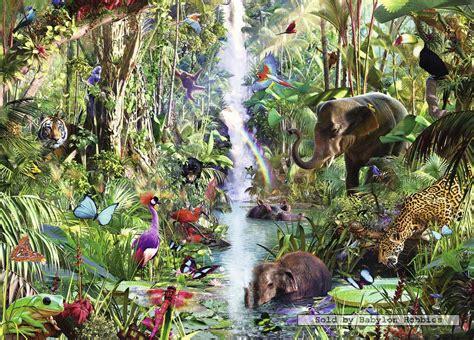 animal jungle 9000 pcs jigsaw puzzle animals in the jungle animals