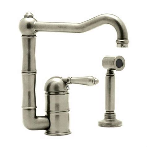 rohl kitchen faucets rohl a3608ws kitchen faucet from home
