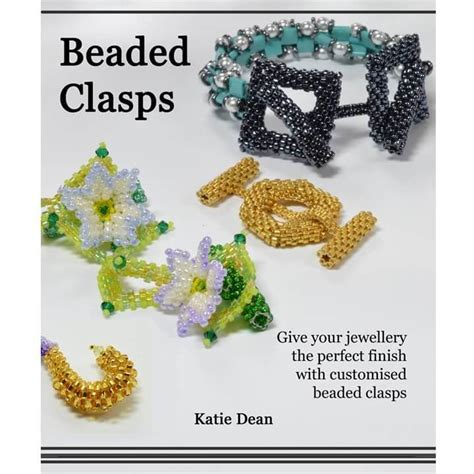 beading books beaded clasps book beadflowers dean