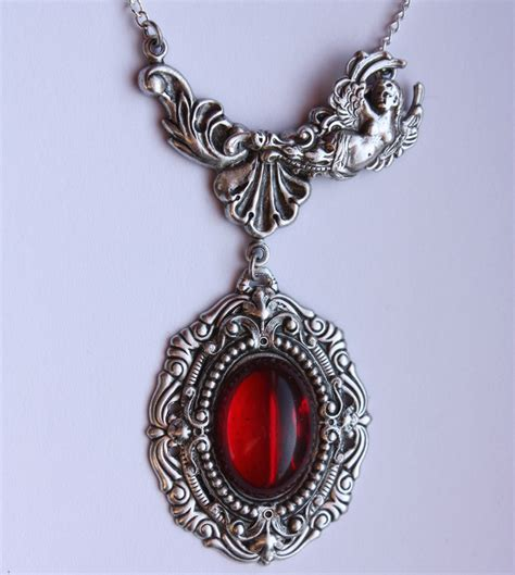 jewelry pendants filigree ruby pendant by pinkabsinthe on deviantart