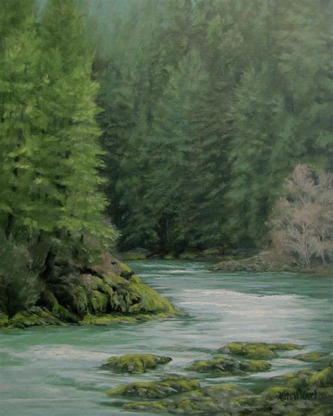 spray paint emerald forest emerald forest painting by ilari