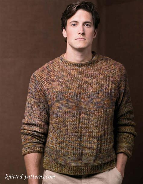 mens knitting patterns s pullovers and sweaters knitting patterns