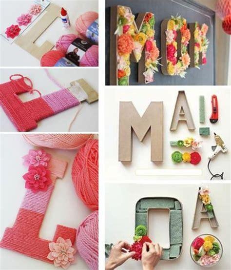 letras de carton decoradas letras de cart 243 n letras decorativas