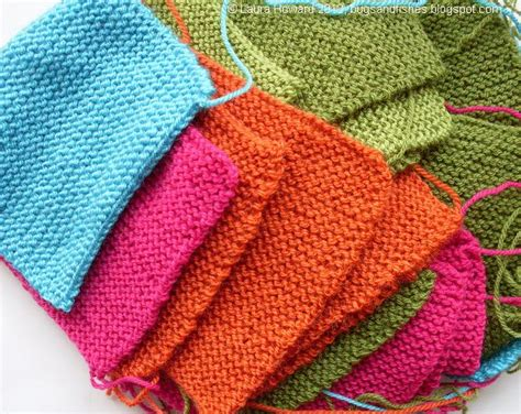 how to end a knitted blanket bugs and fishes by lupin simple squares
