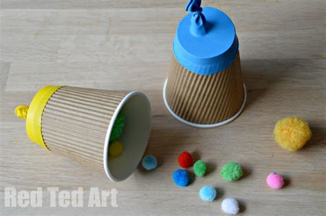 paper cup craft paper cup popper craft ted s