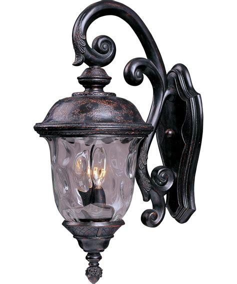 outdoor carriage lights maxim lighting 40497 carriage house vx 3 light outdoor