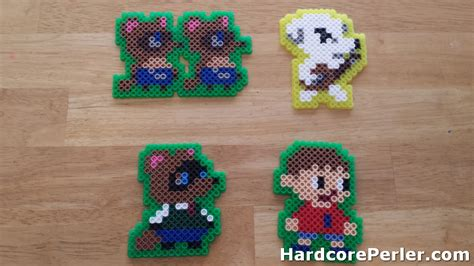 perler animals 1000 images about perler animal crossing on