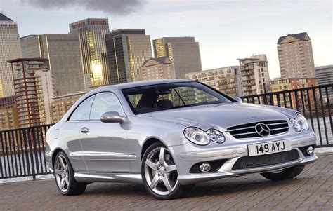 Mercedes Of by Mercedes Clk Coup 233 2002 2009 Photos Parkers