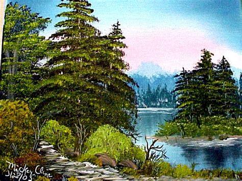 bob ross painting classes new smyrna news happy paintings