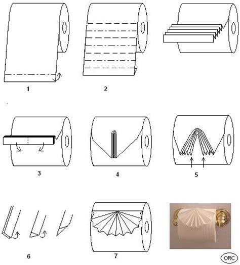 origami toilet paper toilet paper origami pleat fold