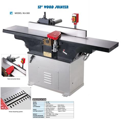 what is a jointer used for in woodworking 12 quot wood jointer wj 300 wj 300a shoot china