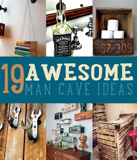 craft projects for guys cave ideas 19 diy decor and furniture projects