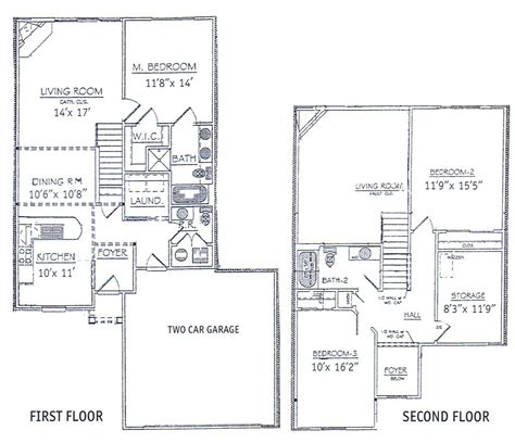 2 story house floor plans 3 bedrooms floor plans 2 story bdrm basement the two