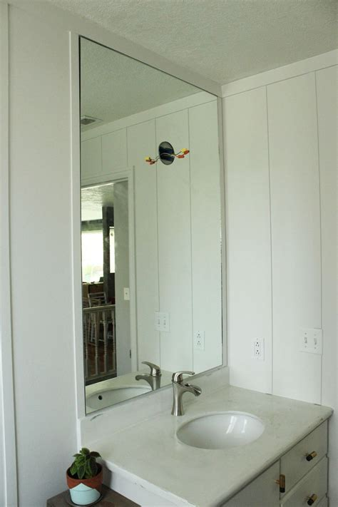 mirror for bathrooms how to professionally install a bathroom mirror