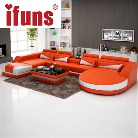 recliner leather sofa set ifuns modern luxury u shaped design sofa set genuine