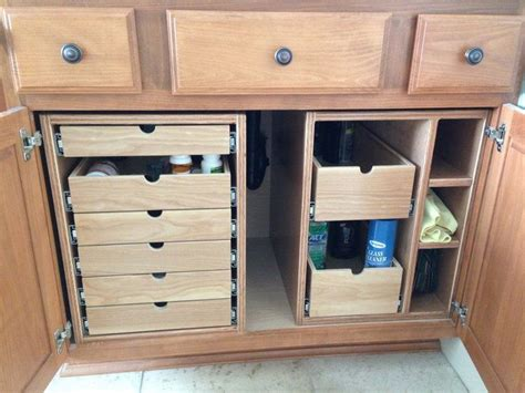 bathroom cabinet organizer ideas 25 best ideas about cabinet storage on