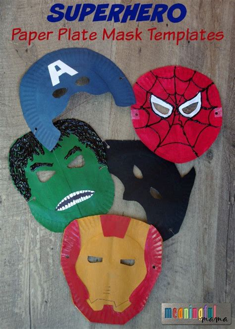 paper plate mask craft paper plate crafts for