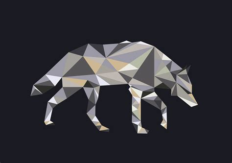 wolf origami origami wolf on behance