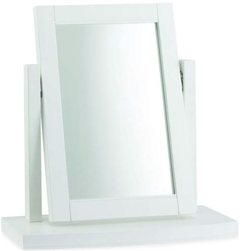 Bedroom Vanity Mirror bentley designs hampstead white vanity mirror bentley