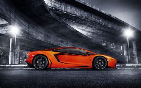 Car Wallpapers by Orange Lamborghini Aventador Wallpaper Hd Car Wallpapers