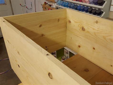 how to build a storage ottoman build storage ottoman how to build a storage ottoman