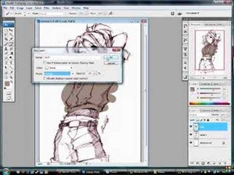 how to color in photoshop how to easily color sketches in photoshop