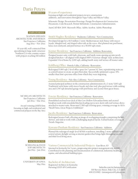 project architect resume sample gallery creawizard com