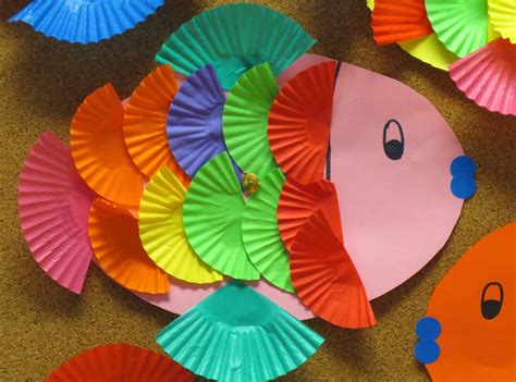 fish crafts for laughter and learning in prep five for friday
