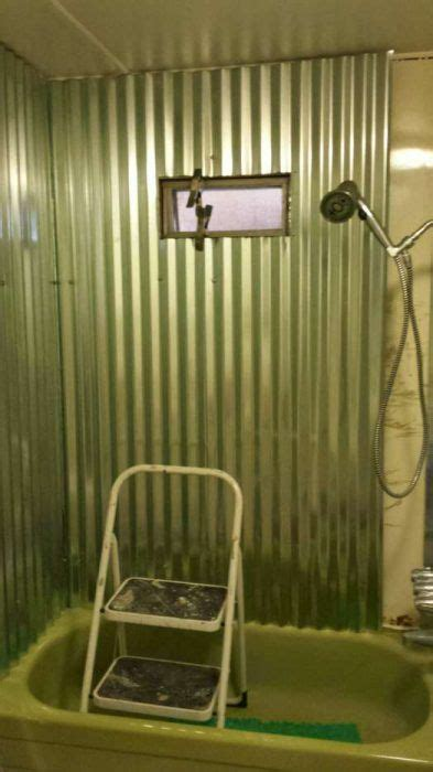 mobile home bathroom showers 1000 ideas about mobile home bathrooms on