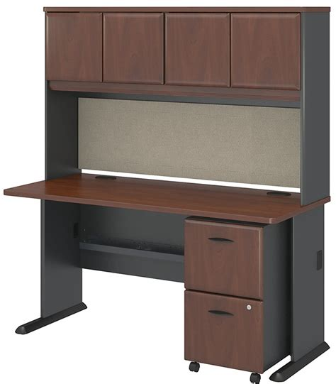 collection desk with hutch and chair series a collection 60 w x 27 d desk with hutch and