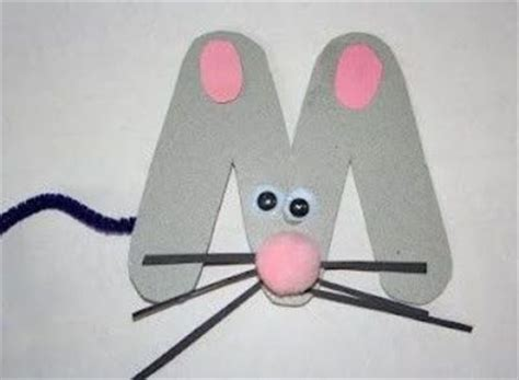 mouse craft for m is for mouse craft preschool items juxtapost