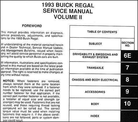 free car manuals to download 1991 buick regal auto manual service manual 1993 buick coachbuilder free service manual download service manual 1993