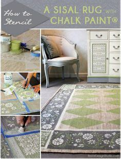 chalk paint jute rug chalk paint 174 stenciled floor cloth stencils cloths and