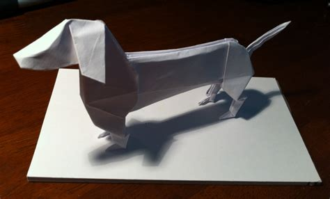 dachshund origami origami sausage dogs and dachshund on