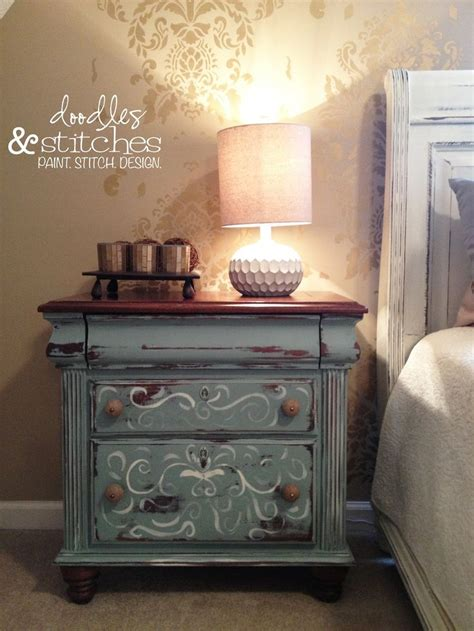 chalk paint nightstand chalk paint painted nightstand chalk paint