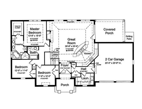 open floor plan homes with pictures 17 best ideas about blueprints for houses on