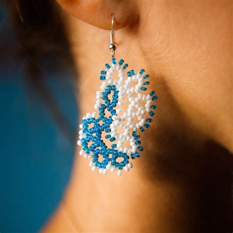 how to make beaded jewelry earrings how to make seed bead earrings nbeads