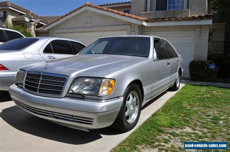 1999 Mercedes S500 For Sale by 1999 Mercedes S Class For Sale In The United States