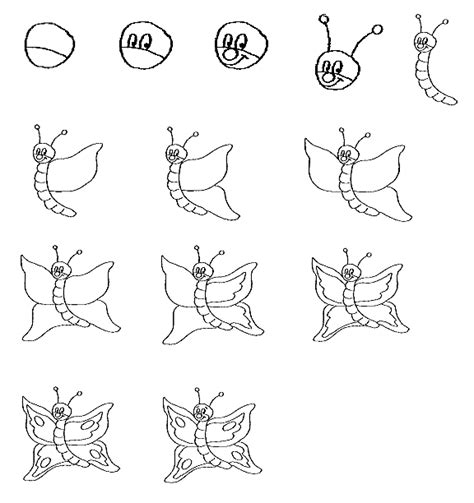 draw a how to draw insects