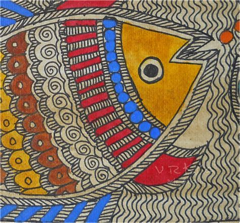 traditional crafts for vrksa arts crafts fish madhubani indian traditional