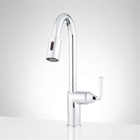 touchless faucets kitchen mullinax single touchless kitchen faucet kitchen